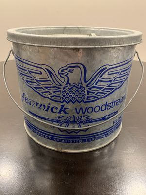 Vintage Galvanized Floating Minnow/Bait Bucket for Sale in Lockport, IL