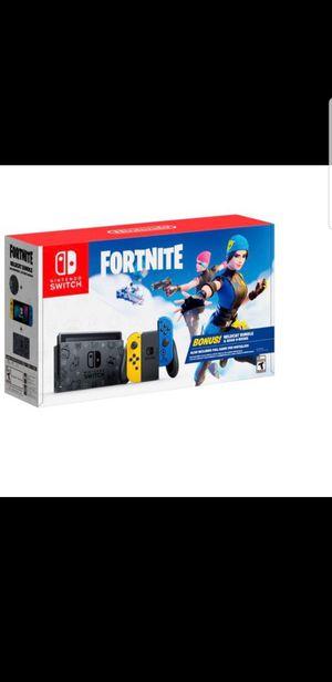Nintendo Switch Console Fortnite Edition for Sale in Miami, FL