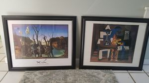 Struggling artist pictures with frames for Sale in Cranston, RI