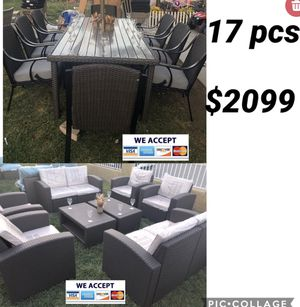 Huge patio furniture set for Sale in Norco, CA