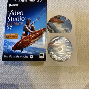 Corel Video Studio Ultimate X7 for Sale in Rose Valley, PA