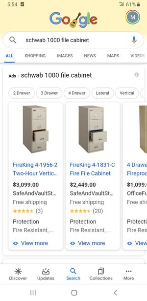 4 Schwab 1000 File Cabinets for Sale in Beverly Hills, CA