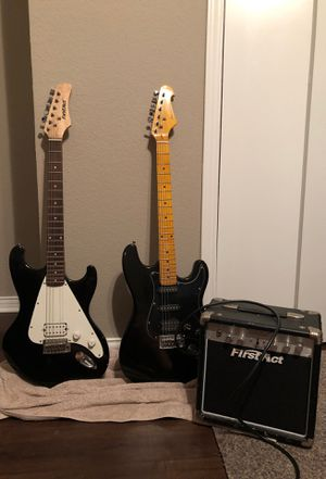 Two guitars and an amp for Sale in Red Oak, TX