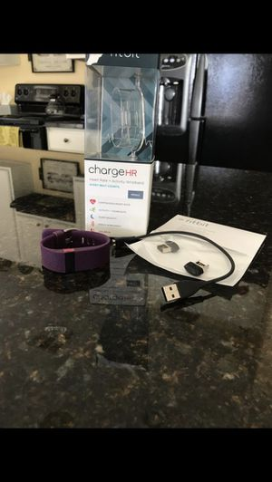 Fitbit Charge HR Small for Sale in Phoenix, AZ