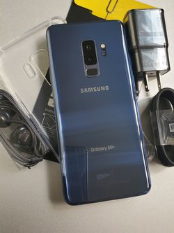 Galaxy S9 Plus 64GB Clean Unlocked Metro T-Mobile AT&T Cricket Sprint Boost Mobile Verizon Telcel Blue for Sale in Monterey Park,  CA