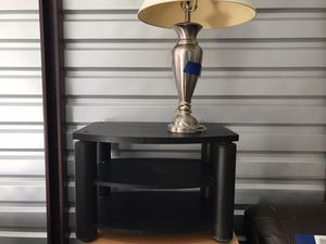 Small Black TV - Television Stand for Sale in Cresskill, NJ