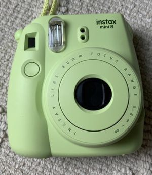 Lime green instax camera for Sale in Irvine, CA