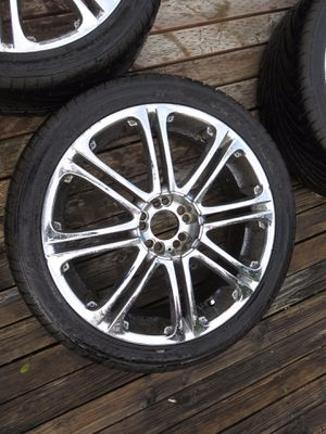 20 Inch wheels - AMAZING tires! Perfect for your ride! for Sale in Ocean Shores, WA