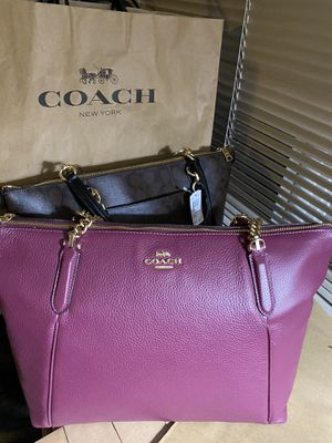 100% Brand new Original Coach handbag with tags for Sale in Rockville, MD