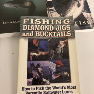 3 New Fishing Books - Free for Sale in Port St. Lucie, FL