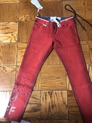 Off white red jean for Sale in Washington, DC