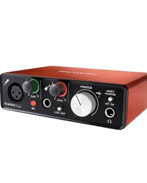 Focusrite Scarlett Solo USB Audio Interface for Sale in San Jose, CA
