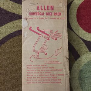 Allen Universal Bike Rack for Sale in Odenton, MD