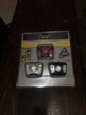 3 pack LED Headlights for Sale in Upland, CA