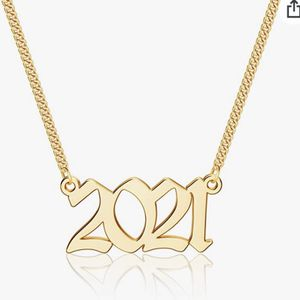 2021 Year Necklace for Sale in Moreno Valley, CA