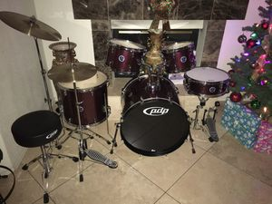 New Complete PDP Drum Set by DW for Sale in Phoenix, AZ