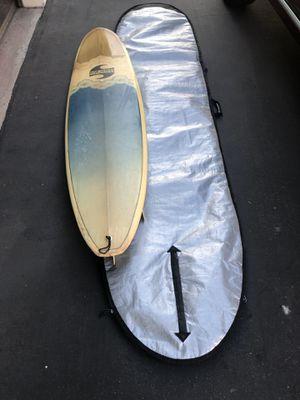Bob Hayes Surboard w/cover for Sale in Glendora, CA