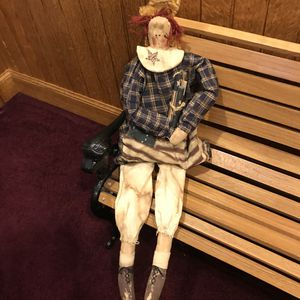 Primitive Americana Doll for Sale in Jersey Shore, PA
