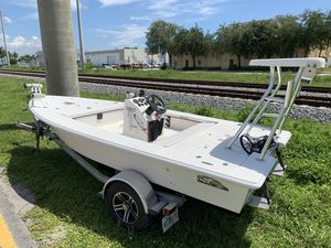 Eagle 1600 flats boat hull for Sale in Hollywood, FL