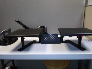 Staples dual monitor stand for Sale in Fort Lauderdale, FL