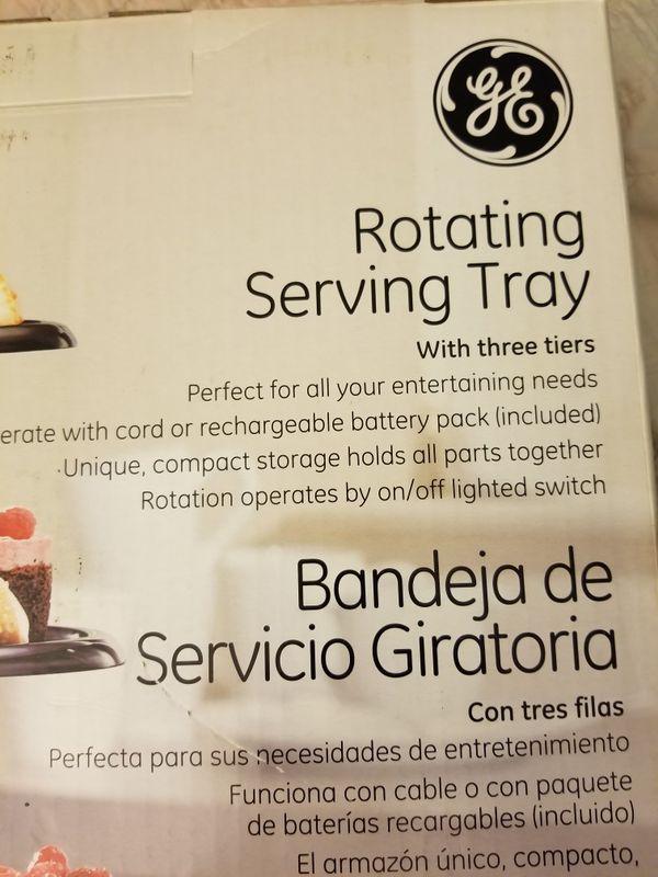 Rotating Serving Tray