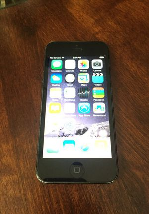 iPhone 5 16gb Unlocked (AT&T) for Sale in Nashville, TN