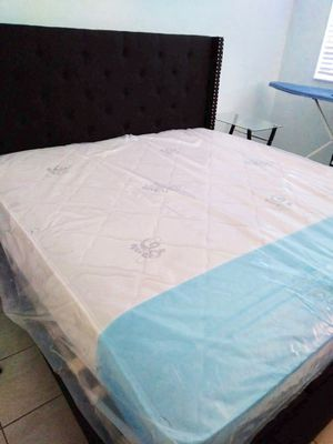 NEW QUEEN MATTRESS AND BOX SPRING INCLUDED 2 PC SET for Sale in Miami Lakes, FL