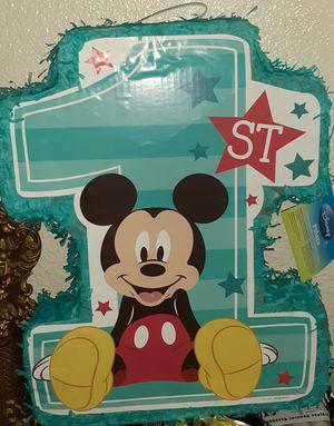 BRAND NEW MICKEY MOUSE PINATA for Sale in Modesto, CA