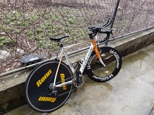 Cannondale supersix carbon road bike sram for Sale in Queens, NY
