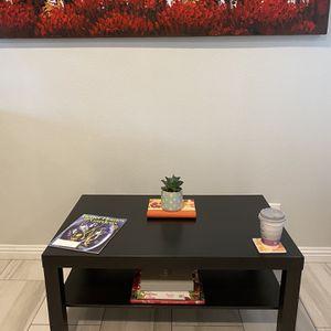 """IKEA Coffee Table in black color. DM: 35 3/8 L x 21 5/8 W x 17 3/4"""" H (Mesa de centro o para cafe, bebidas, y revistas,etc) for Sale in Irvine, CA"""