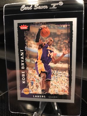 2009 Fleer Kobe Bryant Basketball Card - Lakers Jersey 24 Black Mamba RARE Collectible - Ready for PSA or Beckett 9 / 10 MINT GEM Grade - $39 OBO for Sale in Carlsbad, CA