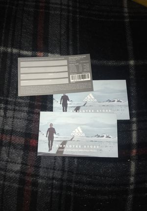 Adidas employee store passes!! (AUGUST) for Sale in Portland, OR