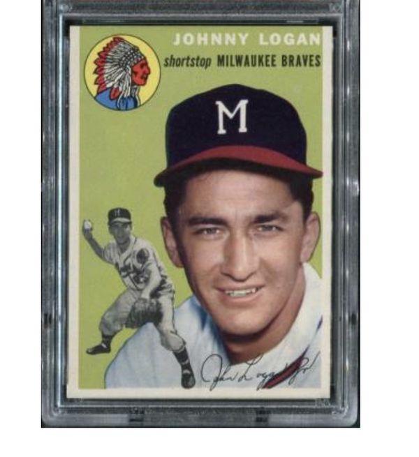Johnny Logan baseball card
