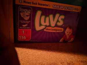 Pampers/luvs daiper for Sale in Wichita, KS