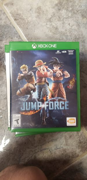 Jump force (xbox one) for Sale in Danville, PA