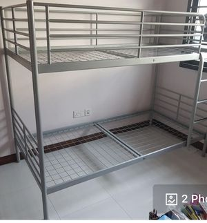 Metal Bunk bed by IKEA for Sale in National City, CA