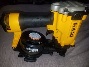 I HAVE FOR SALE DEWALT ROOFIN GUN 15,° for Sale in Raleigh, NC