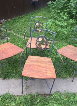 Iron chairs for Sale in Thomaston, CT