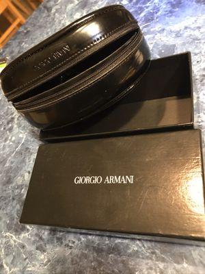 giorgio armani sunglasses case soft with box for Sale in Carrollton, TX