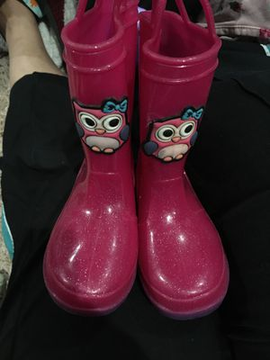 Rain boots girl for Sale in Houston, TX