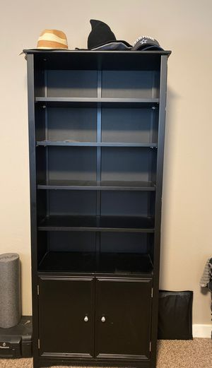 Bookshelves with storage for Sale in St. Helens, OR
