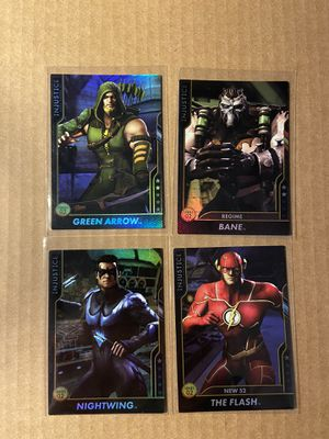 Injustice Arcade Cards 14 Card Lot for Sale in Ontarioville, IL