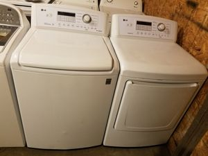 Lg washer & electric dryer set for Sale in Houston, TX