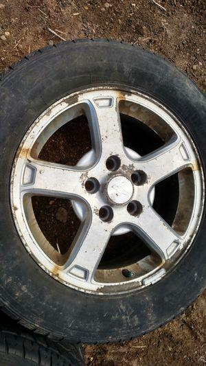 "Chevy 16"" aluminum rims for Sale in Eau Claire, WI"