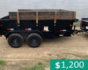 Price$12OO BIG-TEX 14LX 2017 hydraulic dump for Sale in Sioux Falls, SD