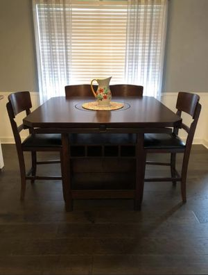 Kitchen table with 4 chairs and bench for Sale in Porter, TX