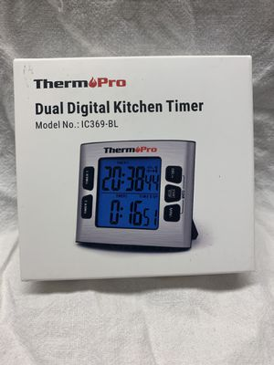 Dual digital kitchen timer - brand new for Sale in Spanaway, WA