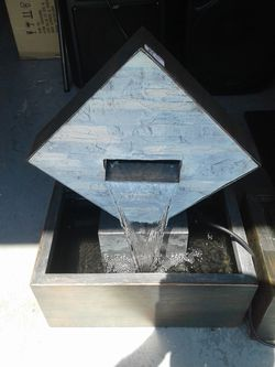 Indoor and outdoor water fountain with pump new for Sale in Burtonsville,  MD