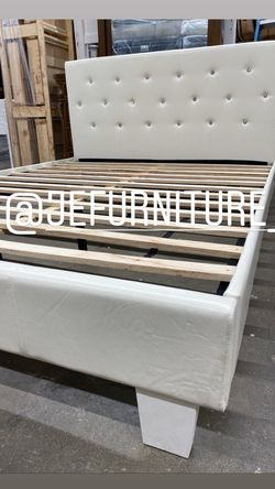Full Size Bed Frame (Mattress Included) for Sale in Los Angeles,  CA