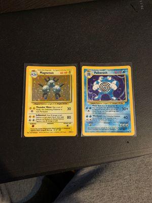 Pokemon Card Base Poliwrath Magneton for Sale in Pasadena, MD